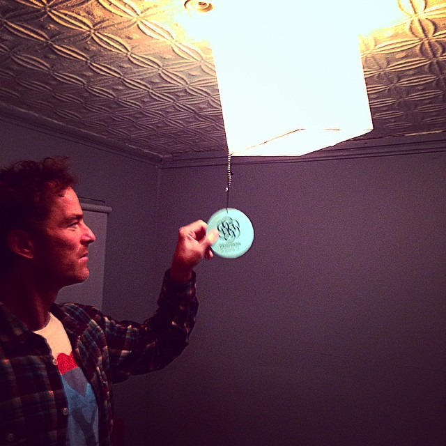 Geoprene Technology light fixture. #lovematuse #ckth @justinjayphoto