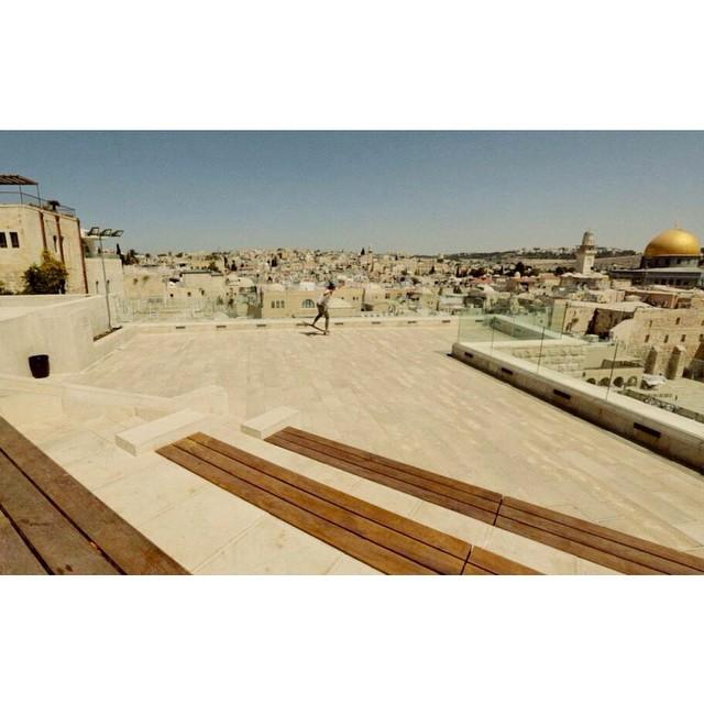 Still haven't seen Open new trailer? Go check it out! www.longboardgirlscrew.com In the picture @cindyzskates rocking #Jerusalem. @danieletura shot  #lgcopen #longboardgirlscrew #girlswhoshred