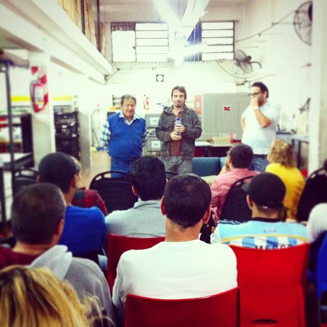 Todo el #PaezTeam reunido en la Fábrica para la 2da Edición de #AbrituBocho  Hoy nos inspira Toty Flores! #InstaPaez #PaezFactory
