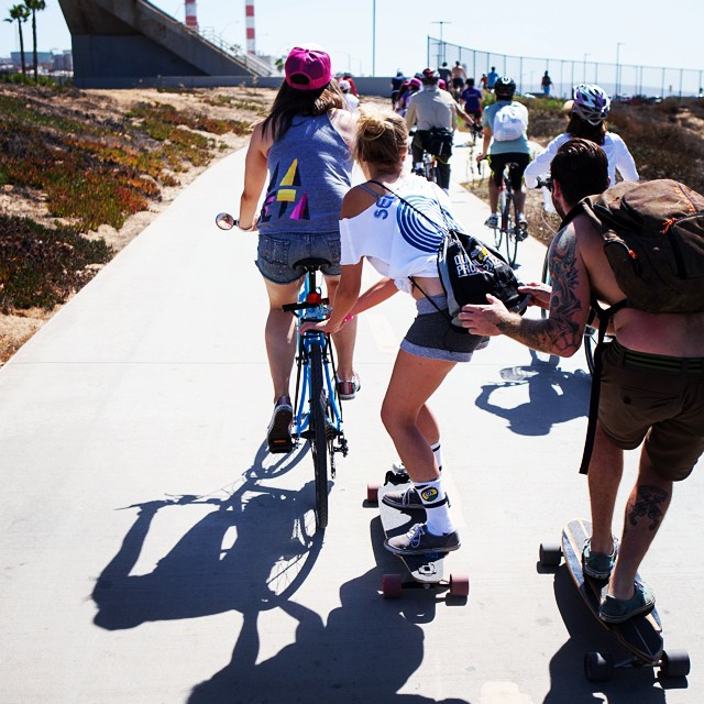 Come hitch a ride to #B4BC's #SkateTheCoast event THIS SATURDAY, and skate 18 miles along the boardwalk with us from #SantaMonica to #Redondo! All funds raised benefit Boarding for Breast Cancer's education and prevention programs. Sign up and start...