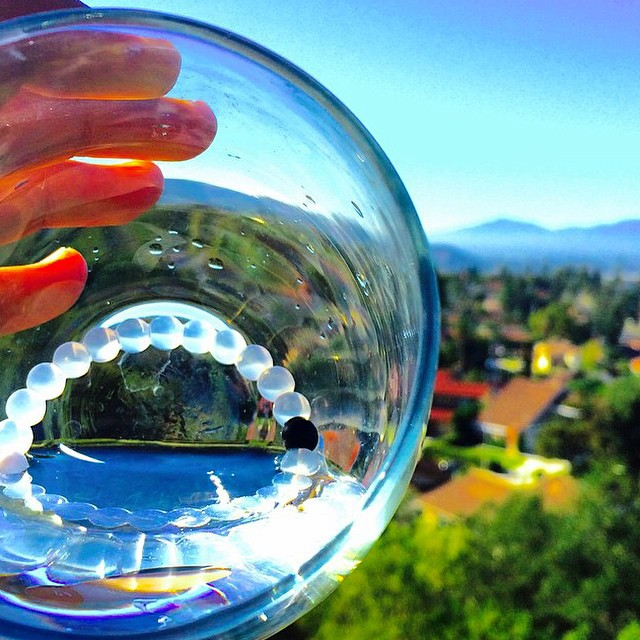 Our definition of seeing the glass half full #livelokai  Thanks @enzoleyva15