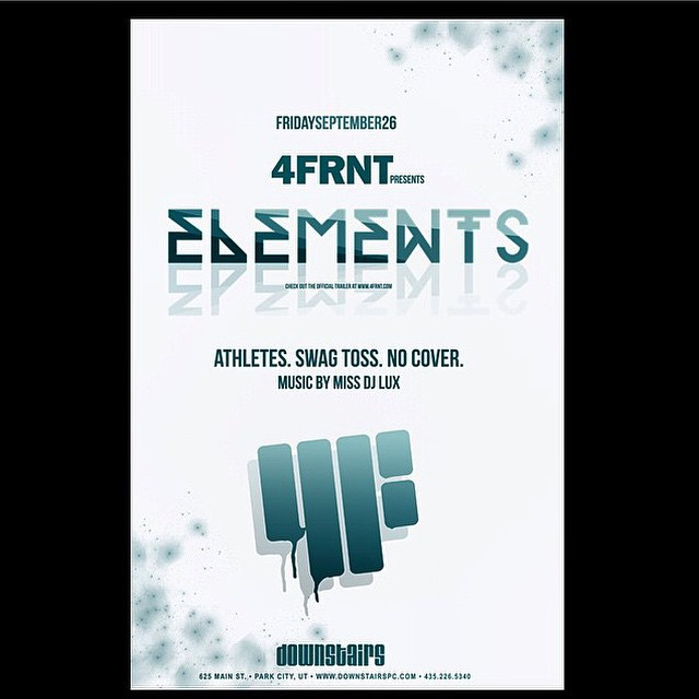Don't miss out on the FREE premiere of Elements tomorrow in Park City at The Downstairs. #riderowned #shapingskiing