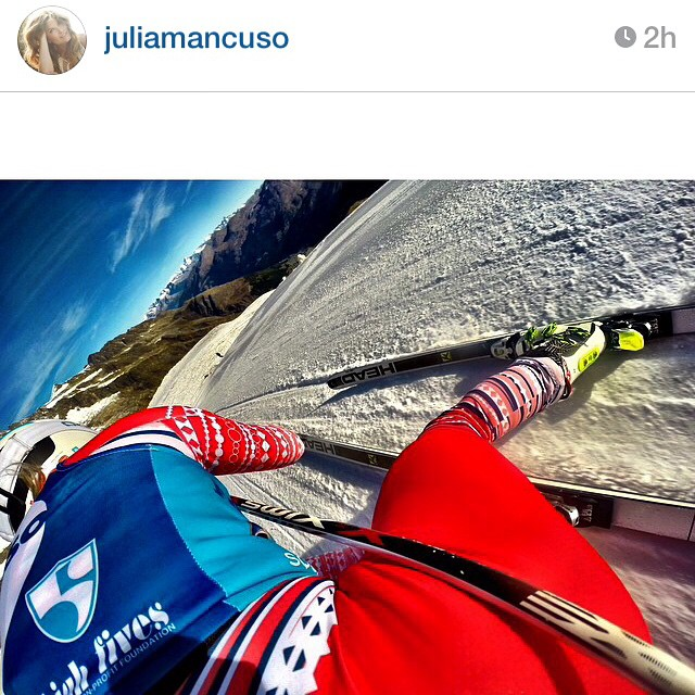#regram from @juliamancuso | Thank you for all the new followers from your shoutout, #JuliaRocks #weloveyoursupport