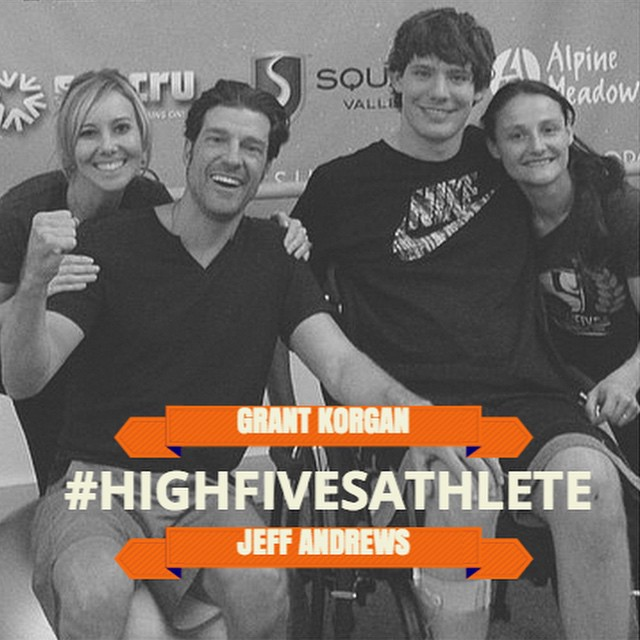 #HighFivesAthlete @grantkorgan & @j.andrews83 all smiles with trainers @cotapilates & @shawnakorgan | More on the Hi5's facebook page |