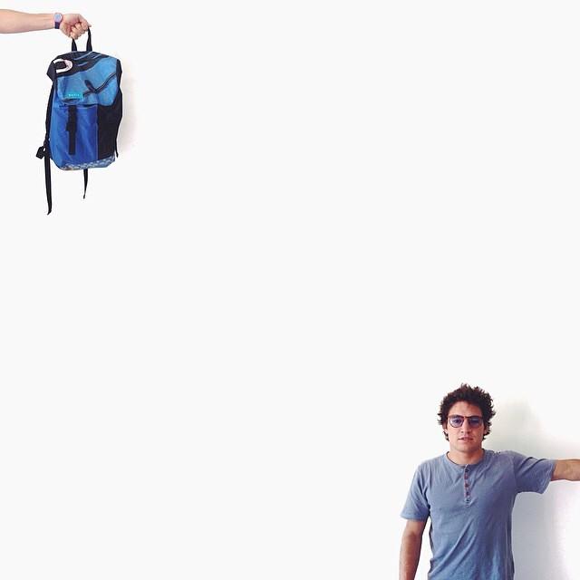 #marcosmafia by @rpirovano . Visit @jackbrothers #buenosaires #creativestudio // #backpack #repurpose #kite #kiteboarding #cabrinha