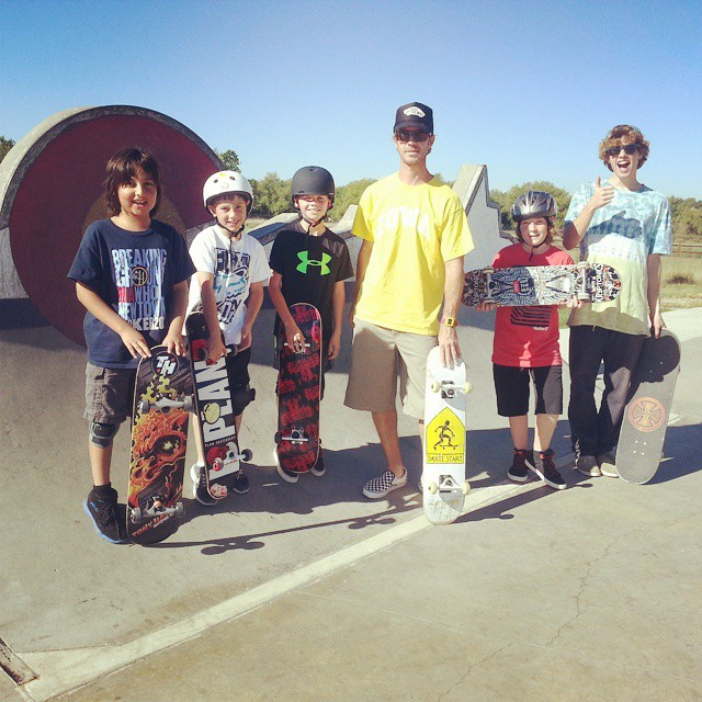 Saturday at the office.  #tictacs #skatestart #clifkids #gohawks #railbender #CO