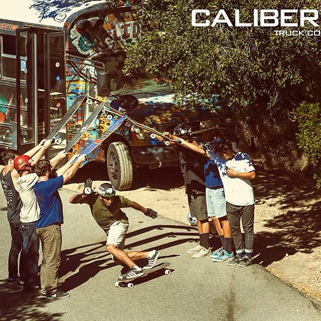 Your weekend smells better now with this epic shot of @tyler_howell_sb for @calibertrucks