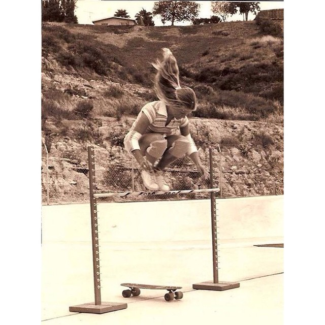 #EllenOnealDeason in 1978 in California. Photo cred?  Hope you're having a great weekend family! #knowyourroots #respect #longboardgirlscrew #girlswhoshred
