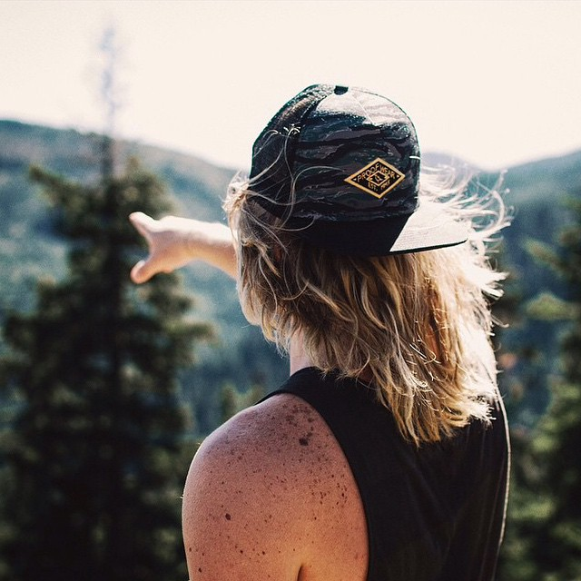 The Tiger Camo Meshback Hat captured by @chaseblood #iwantproof