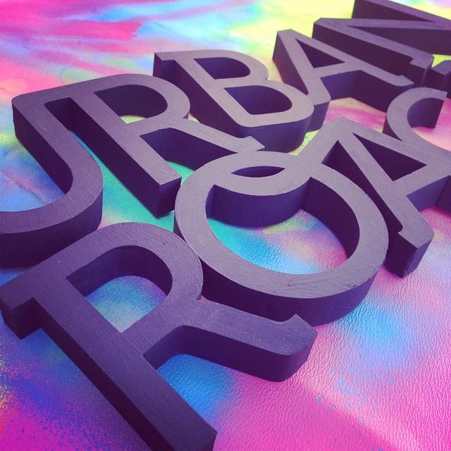 UR 3D #logo #ur #urbanroach #urbanlife #design
