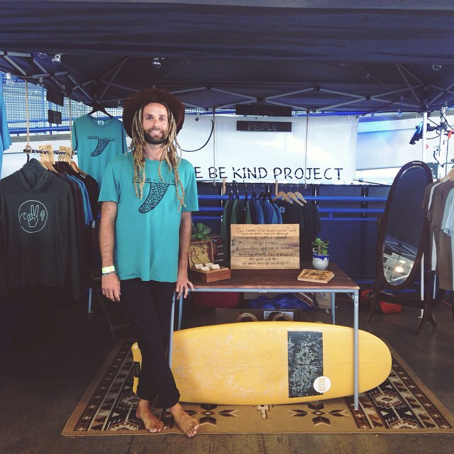 We're spreading Be Kind Vibes at the #VElements festival today! It's a beautiful chance to re connect with yourself and nature thru yoga, music, and art