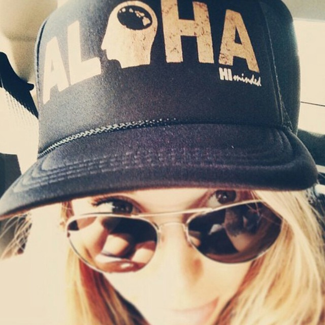 Big mahalos @cambriadetkenmusic for postin pic of HI Minded 'Aloha' trucker hat.... Rockin it well sistah. #himinded #maui #hawaii #surfcompany #truckerhat #aloha #808 #surfergirl #beachbabe #beach #ocean #surfapparel #surfing