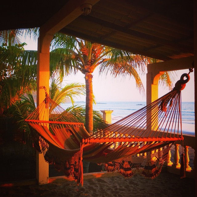 How bout relaxing in a hammock Oceanside