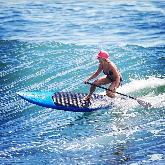Does it get any better than hurricane swell peeling rights at Malibu?!?! Brand ambassador @smskier shredding in MI OLA. #miola #muse #miolainaction #sup #malibu #getoutthere