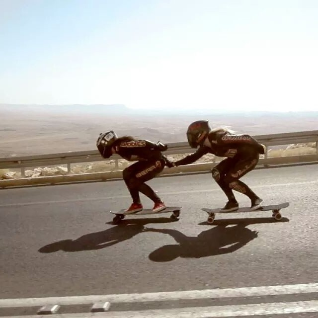 20 days till the worlwide premiere of Open in Madrid during the Madrid Skate Film Festival! All info here  http://longboardgirlscrew.com/2014/09/open-second-trailer-premiere-dare/ Who's coming? @kateslynne & @amandapowellskate going down Ramon Crater...