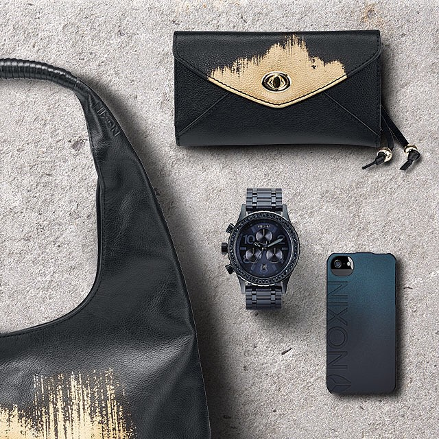 New women's bags, wallets and accessories are now available from Nixon.  Welcome the new on nixon.com (link in bio: @nixon_now) #nixonfall2014 #3820chrono #nixon