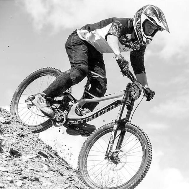 Regram: @nicholirogatkin no shortage of thrills at his first Rampage- photo @juleslangeard