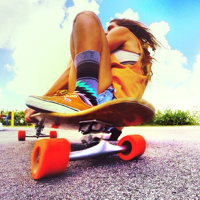 Monday's are tough, but let's get this week rollin' | #Kameleonz #knektusa #LifesABeach #WheresYourBeach #Monday #Longboarding #GoPro #GoPole #GoProHaven pic by @cowrieshellqueen