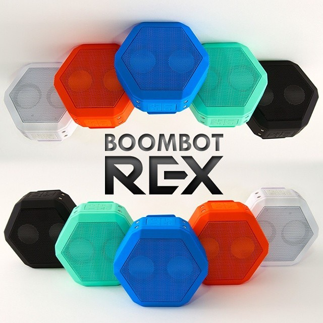 Same Speaker, Better Price!  The Boombotix REX is now starting at $59.99! Available NOW at www.boombotix.com  #bluetooth #speaker #portable #stereo #waterresistant #loudAF #flavors #siri #music  #wearable #bass #woofer #wireless #rugged