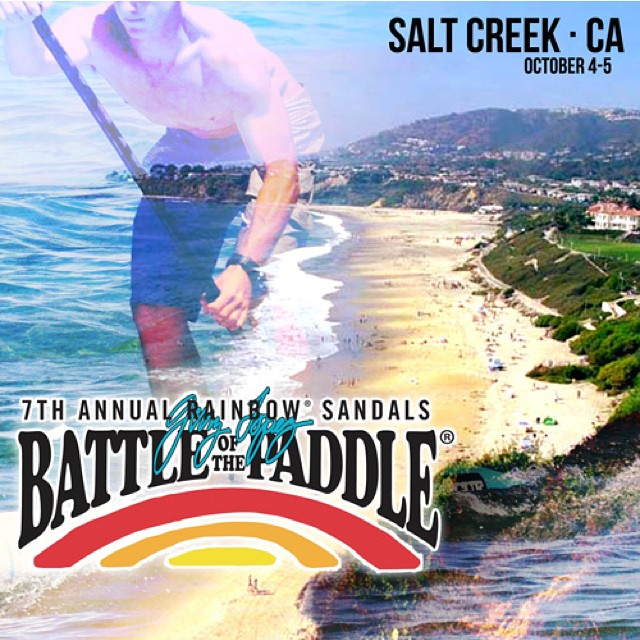 @rainbowsandals Battle of the Paddle is THIS WEEKEND!!! Who is ready for BOP 2014?