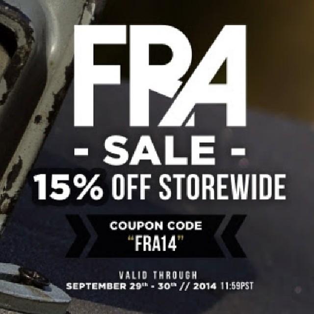 Flash Sale 15% off sitewide until tomorrow  #Freebord #sale