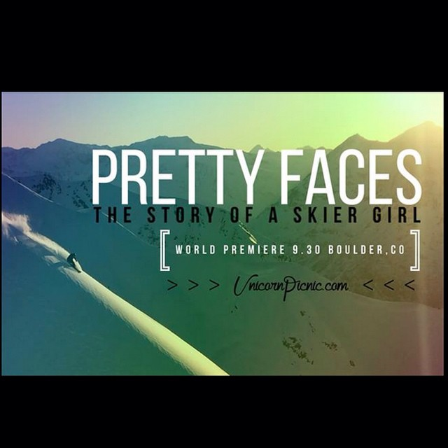 See you all tonight in Boulder for @prettyfacesmovie premier. It's going to be a party.