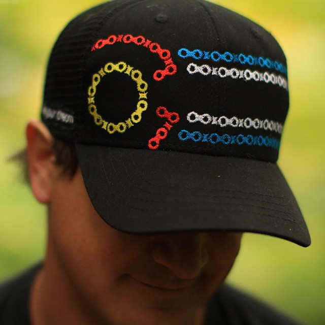 Available for preorder now!  #kinddesign #colorado #bike #bikechain #gearhead #hat #liveyourdream