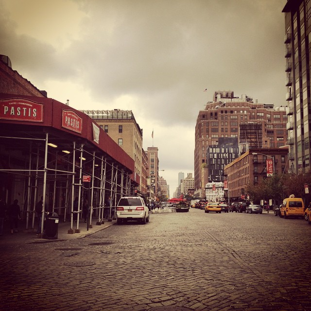 This was the spot #meatpacking #manhattan #nyc #newyorkcity #streetsofny