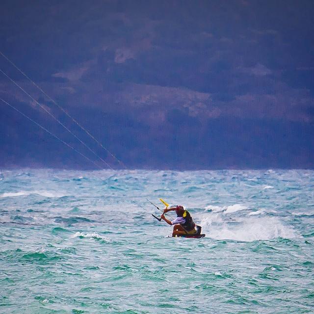 "Riding a #GratitudeFiled high from ""testing"" w/ @naish_kiteboarding | #highfivesathlete | #MauiMagic | #ChoosePositivityNow.com"