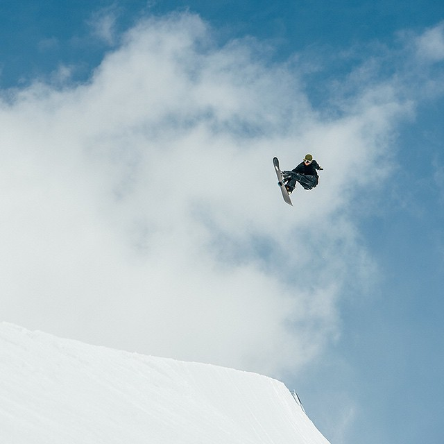 Watch Nixon snowboarders @jeremy___jones and @mikkel_bang go completely unhinged in @burtonsnowboards Presents Full Part.  Now playing on nixon.com/happenings. P: @deanblottogray #nixon