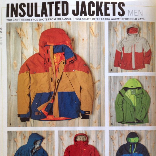 Thanks @skiingmagazine for some Hunter jacket love in your apparel guide. FYI- the msrp is $399, not $499. #technylish #trew