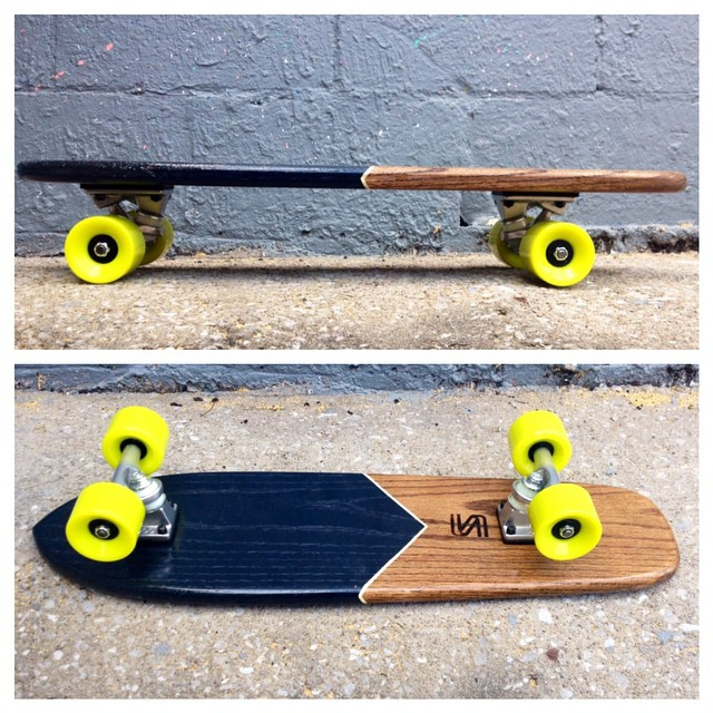 This beauty is about to hit the website. #handmade #skateboards #nashville #oakcruiser