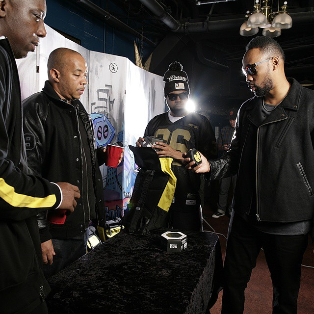 #RZA letting the clan know why the Boombot REX is one of the most unique speakers to date!  #wutang #abettertomorrow #shaolin #music #speaker #portable #bluetooth #embedded #billboard #rollingstone #wutangclan #statenisland #zumiez #ugod #raekwon...