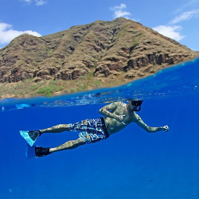 Repost from @manaphotohawaii, one of the 24 talented photographers featured in our new boardshorts collaborated with @fisheyehawaii. Go to norepboardshorts.com to get your pair of the Sandy Beach Collection! PC: @tedfordmahiko
