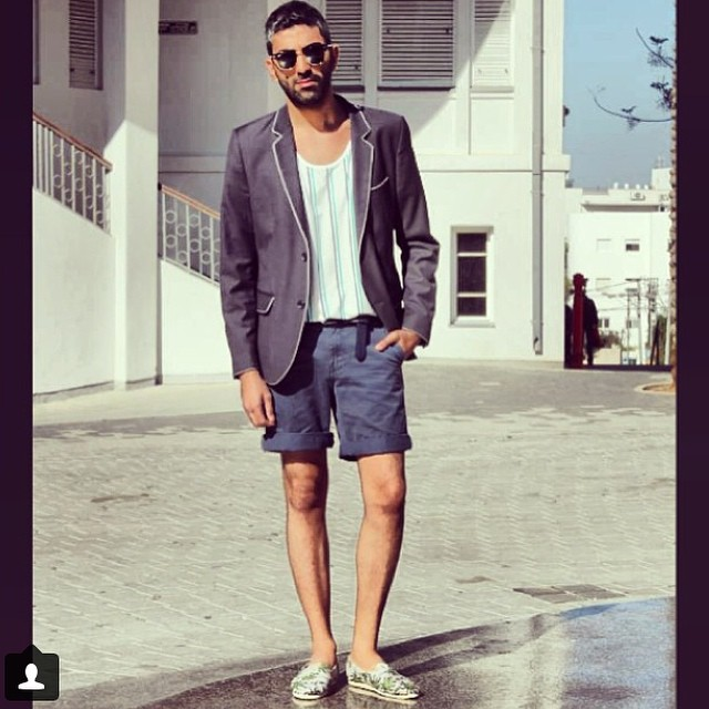 #Fashion blogger @Elad_zer hits the streets in  #Paezhawaii #paezstyle