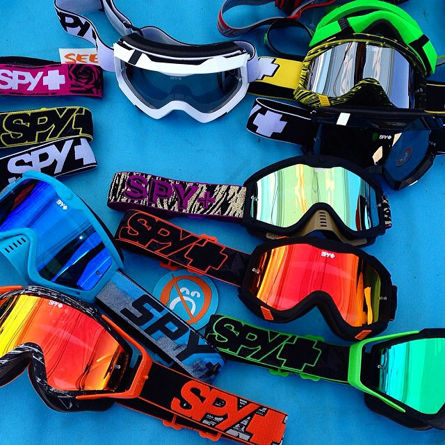 Which style makes you smile?  See our new #MX #goggle lineup on spyoptic.com.  #SEEHAPPY