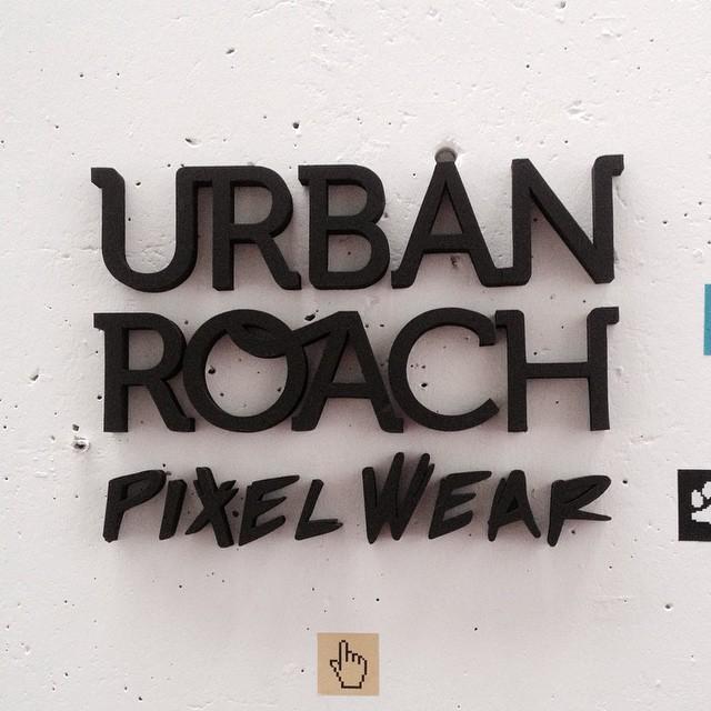 #logo #corporeo #volumen #stand #urbanroach #polyfan #letters #trimarchi #tmdg14