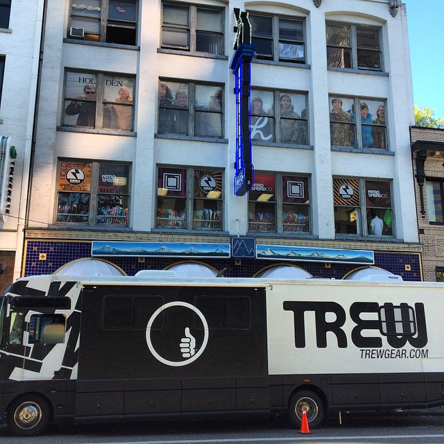 #trewtour at @usoutdoor store today and all weekend. Come check out the new line and a chance to win a week of free heliskiing in BC.