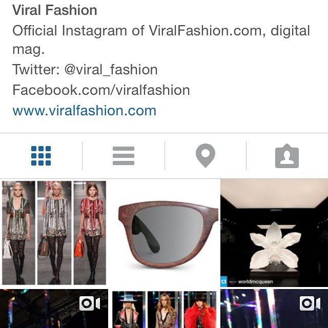 Thanks for the feature @viralfashion!