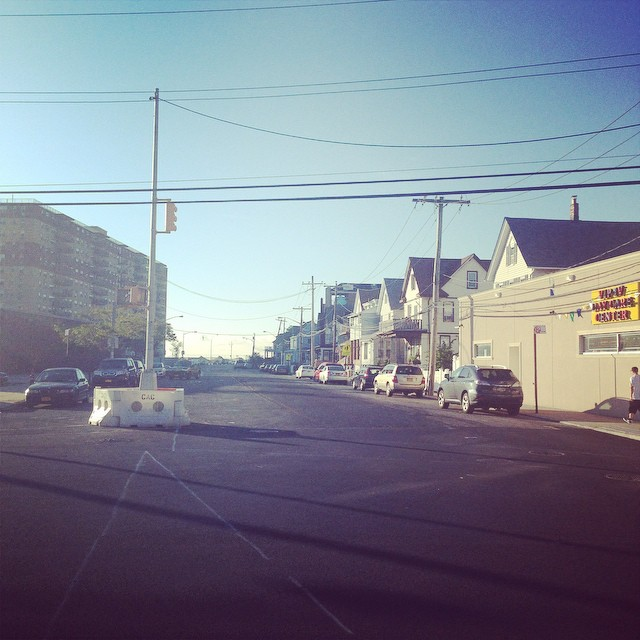 The road to morning lefts #lovematuse #rockaway