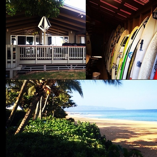 Volcom House Hawaii. PH @felisuarez1 en su segunda temporada !! #hawaii #volcom #surf #FeliSuarez