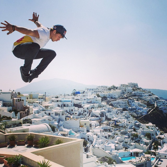 Ready, set... #freerun. The #artofmotion returns to Greece this weekend. Catch it on #redbulltv. @thejasonpaul
