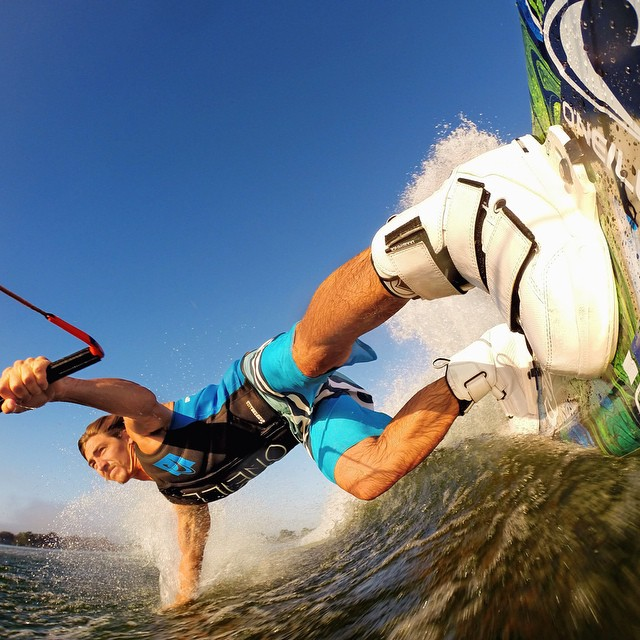 Photo of the Day! @CollinHarrington gets horizontal. Shot on the new GoPro HERO4 Black.