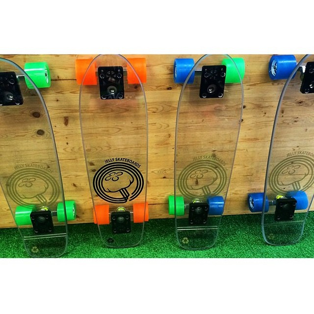 If you live in Palm Beach, Florida #jellyboards are now available at @pbboysclub! Get them while you can! #jellyskateboards #palmbeach #florida #skateshop