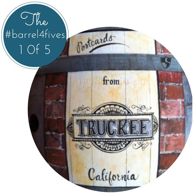 Local artist Erin Kielty, #Truckeeriverwinery & Hi5's are auctioning off Erin's hand painted wine barrel depicting 5 scenes from the Truckee/ Tahoe Area. We will be releasing each of her picturesque scenes between now and when the auction ends, Oct....