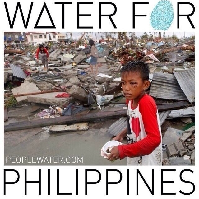 Every #repost @peoplewater will donate $1 for clean water in the Philippines. Make sure to #peoplewater !