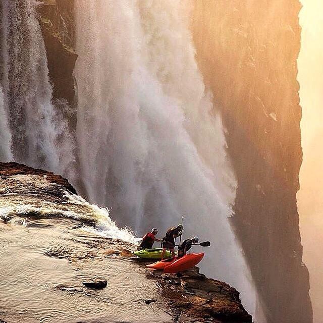 #LifesABeach | extreme kayaking at Victoria Falls #WheresYourBeach? #Kameleonz #Kayaking #Waterfall #GoPro #GoProHaven #Nikon #Canon #VictoriaFalls #River #ThisIsMyBeach