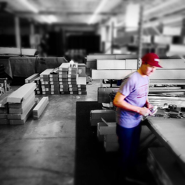 We turned a corner this year and expanded into another warehouse so we could get your skis out to you as soon as possible. All orders shipping now. @matt_sterbenz is always there early and staying late. #riderowned #shapingskiing