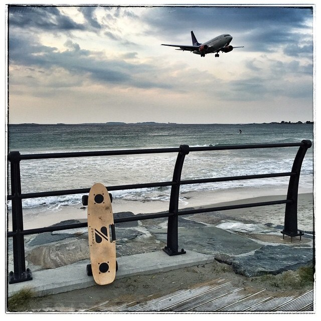 It's a bird! It's a plane! It's a ZBoard! Where are you riding this weekend?  Regram from @odokka in Norway