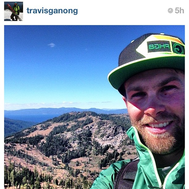 #phgb athlete @travisganong climbing peaks today!